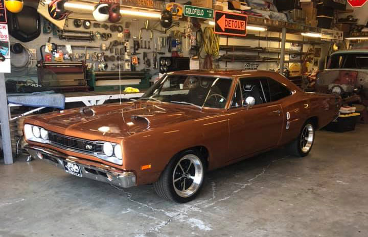 1969 Dodge Super Bee at Dorsett Speed Shop